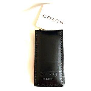 Coach money clip